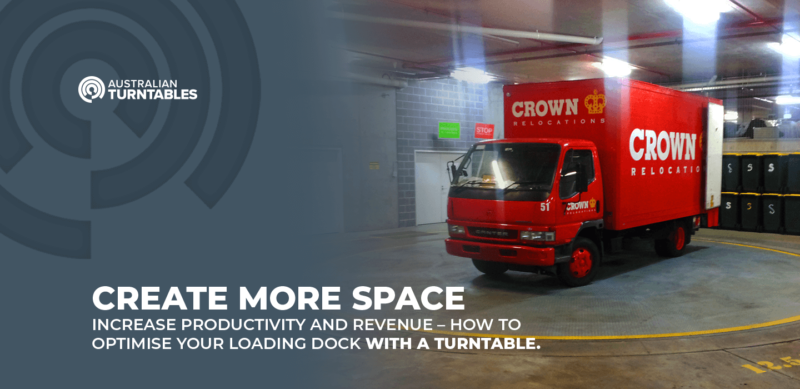 Loading docks turntables